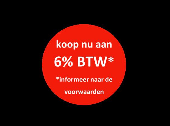 6% BTW-tarief